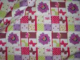 Cotton for Kids katoen patchwork multi Van 7.95...