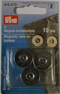 *Prym Magneetknopen 19mm. (416.470)*