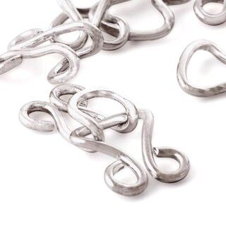 Prym Haken en ogen nr. 13 zilver (261.550)*